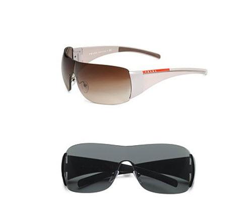 WIRE FRAME SHIELD SUNGLASSES - Eyeglasses Online