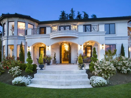 Estate Of The Day 9 7 Million Waterfront Mansion In