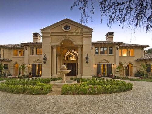 Estate Of The Day 19 8 Million Mediterranean Mansion In