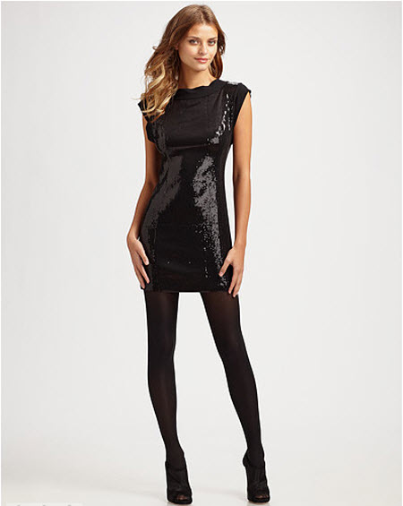 Nanette Lepore Party All Day Sequin Dress