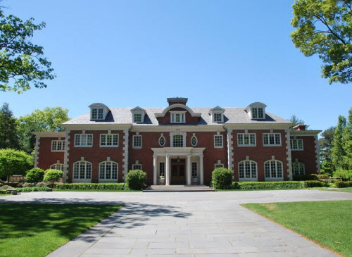 Georgian Colonial Mansion estate of the day: $21 million colonial estate in weston