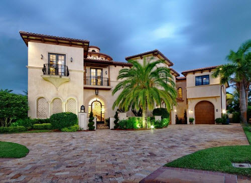 Exotic Excess -   Estate of the Day: $4.9 Million Spanish Renaissance in Boca Raton, Florida :  fl home boca raton house