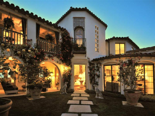 Estate Of The Day 15 Million Mediterranean Mansion In