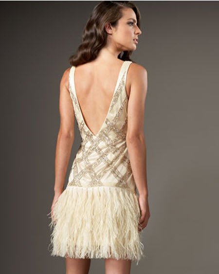 Prom dresses with feathers on the bottom black prom dresses for Wedding dress with feathers on bottom