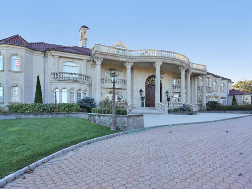Estate of the day 18 million magnificent mansion in for New jersey luxury homes