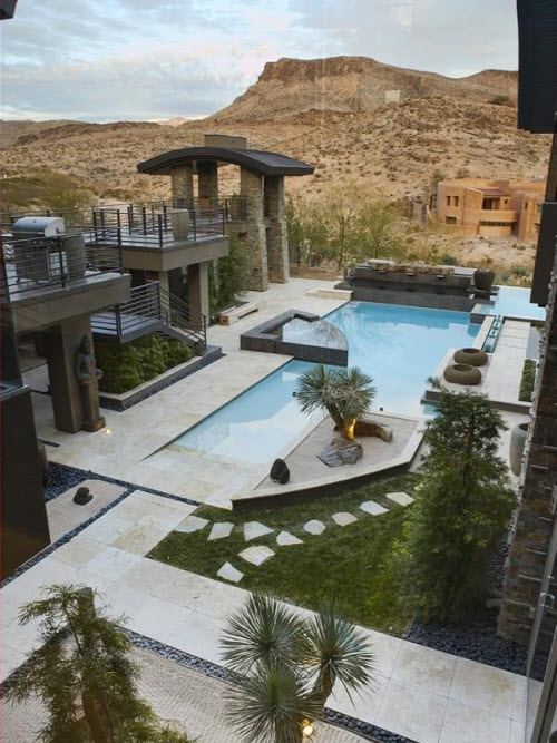 Estate Of The Day 5 9 Million Contemporary Mansion In