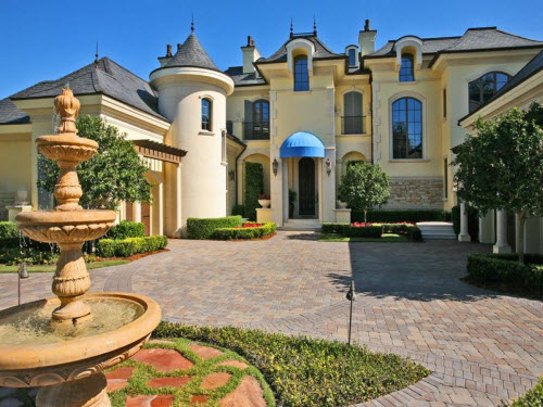 Estate of the day 12 9 million enchanting mansion in for Florida mansions for sale