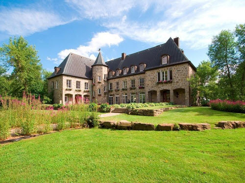 Estate Of The Day 6 9 Million French Villa In Montreal