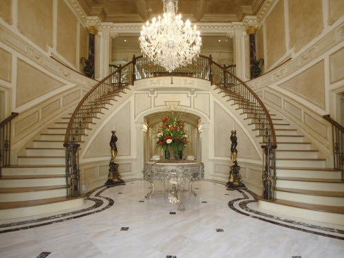 Estate of the day 14 5 million incredible mansion in for Building a house in nj