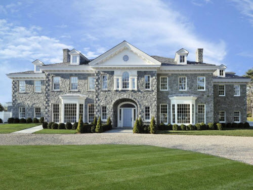 Estate of the day 13 7 million stone manor in greenwich for Builders in connecticut