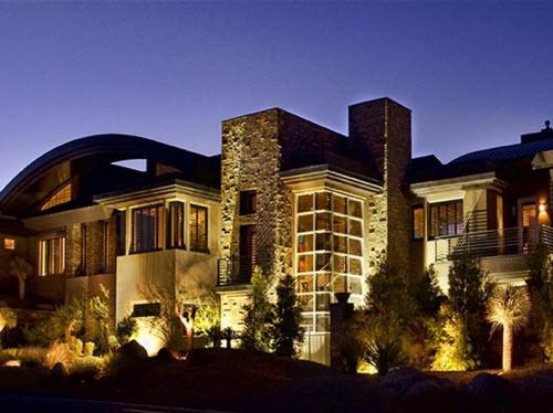 Estate of the day 4 8 million modern estate in las vegas for Modern home decor las vegas