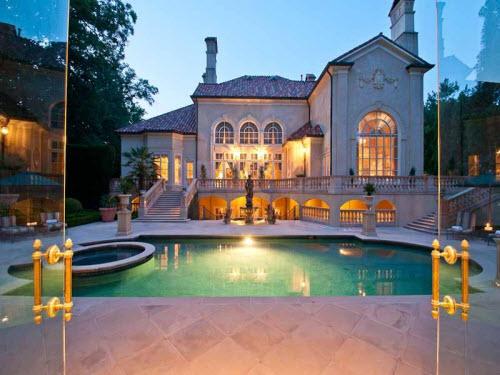 Estate Of The Day 6 2 Million Mediterranean Mansion In
