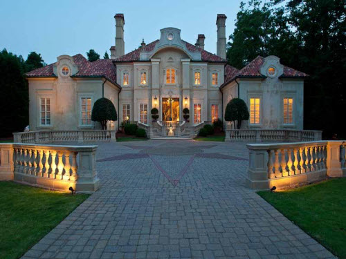 Estate of the day 6 2 million mediterranean mansion in for Dream homes georgia