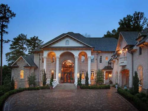 Estate Of The Day Million Grand Mansion In Atlanta Georgia