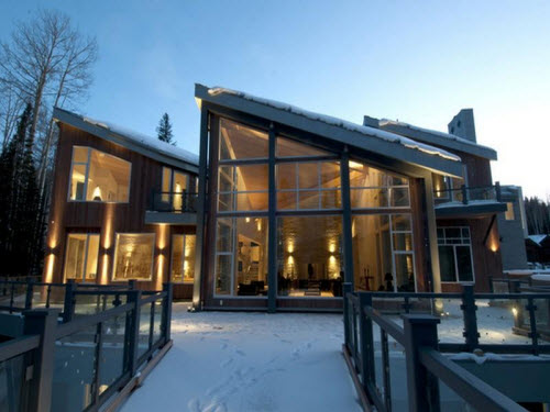 Estate of the Day: $18.5 Million Contemporary Ski Home in Telluride,  Colorado