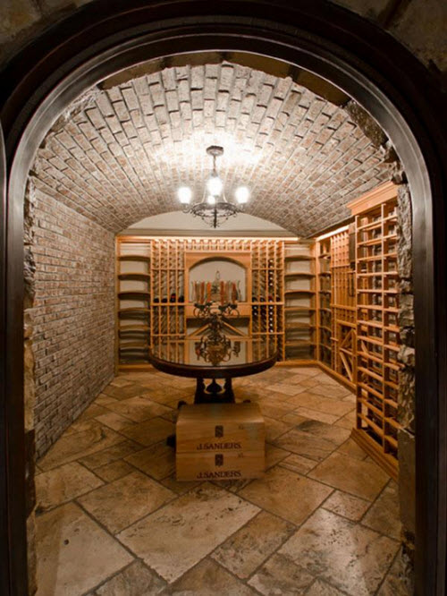 Estate of the day 4 9 million stunning estate in atlanta for Wine cellar in floor
