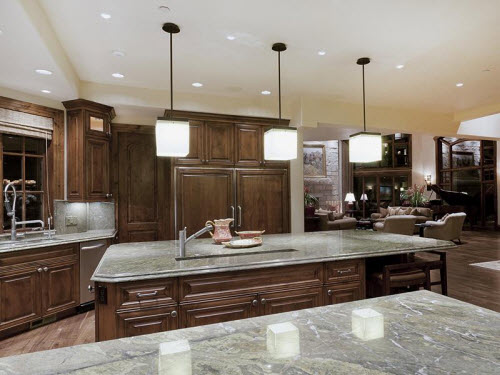 Estate of the day 7 3 million contemporary mountain for Castle kitchen cabinets