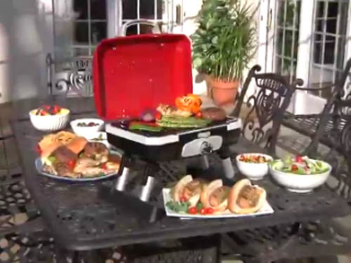 Cuisinart Cgg 180t Petit Gourmet Portable Tabletop Gas Grill