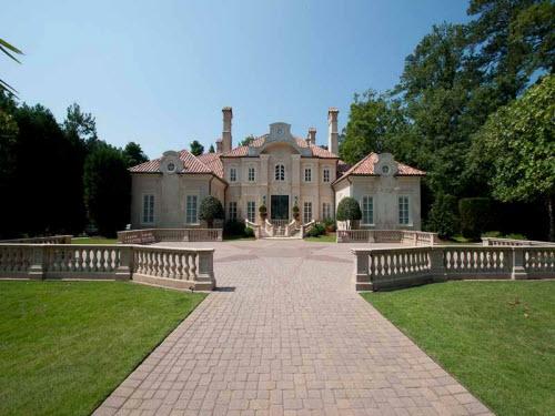 Estate Of The Day 4 9 Million Mediterranean Mansion In