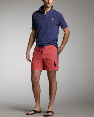 ralph lauren embellished dress mens shorts for swimming