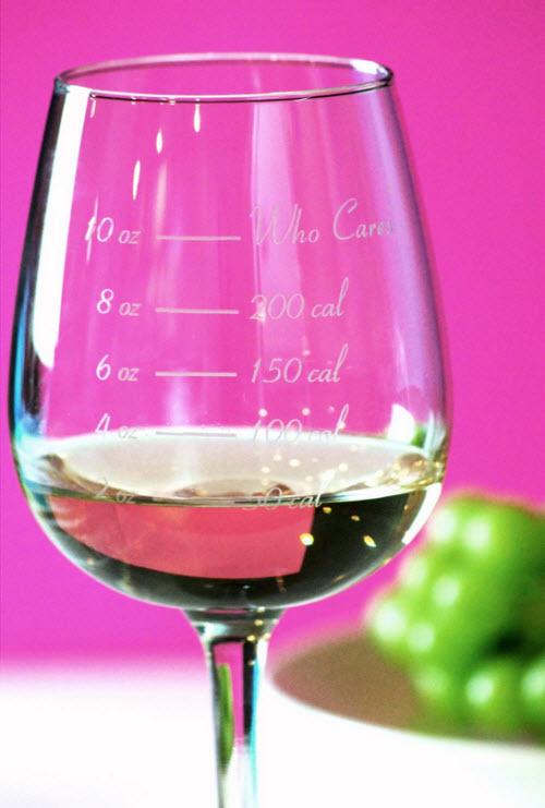 caloric cuv e calorie counting wine glass