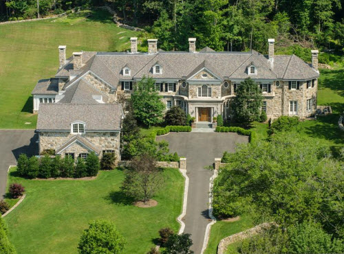 Estate Of The Day 23 Million Prestigious Round Hill