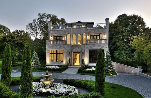 Estate of the day 4 1 million limestone mansion in for North shore home builders