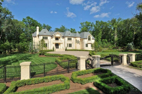 $13.9 Million Luxury Mansion in Saddle River New Jersey
