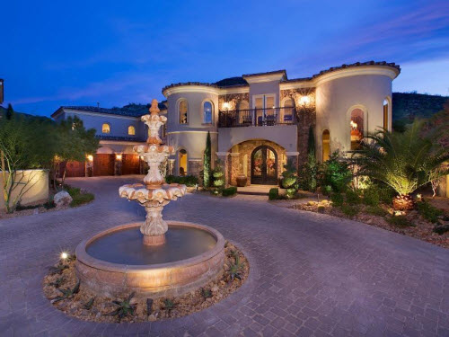 estate of the day 2 3 million tuscan estate in henderson nevada