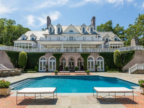 Estate Of The Day 22 Million Waterfront Mansion In Lloyd