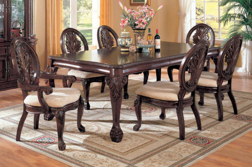 Coaster Tabitha Cherry Dining Table