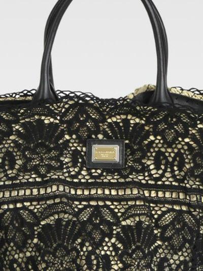 Dolce & Gabbana Lace Basket Bag 2