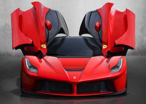 Ferrari-LeFerrari-Front