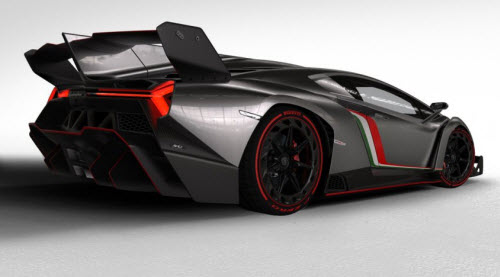 Lamborghin-Veneno-Rear-Side