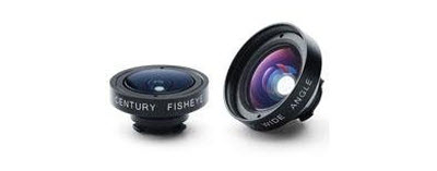 iPro Lens System for Apple iPhone 4 & 4S with Cases, Handle, Fisheye & Wide-Angle Lenses 2