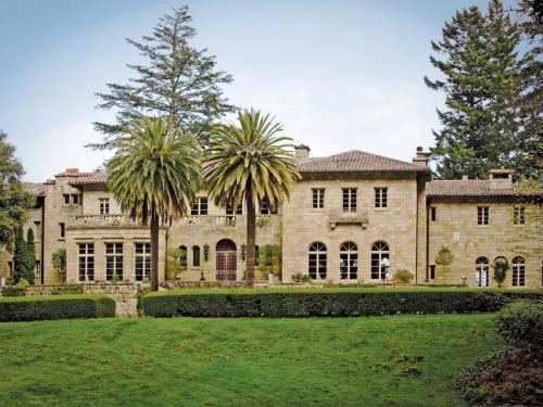 $15.8 Million Villa Lauriston in Portola Valley California 2