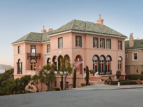 $16.5 Million European-Inspired Estate in San Francisco California
