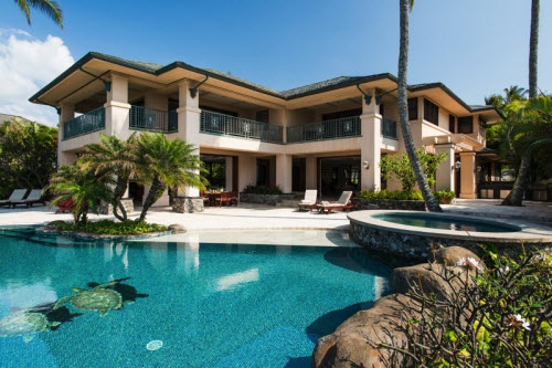 $28 Million Beachfront Estate in Kapalua Hawaii 12