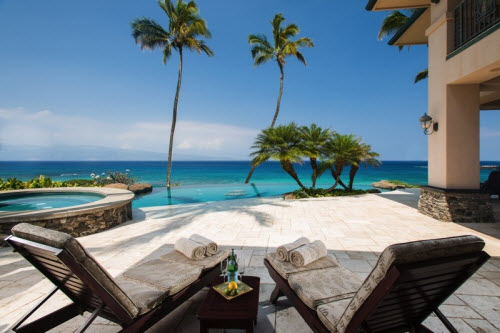 $28 Million Beachfront Estate in Kapalua Hawaii 5