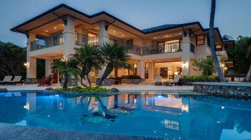 $28 Million Beachfront Estate in Kapalua Hawaii