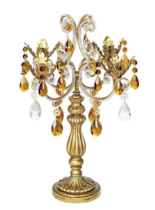French Taper Droplets Candelabra