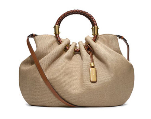 Michael Kors Skorpios Canvas Ring Tote