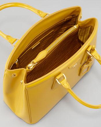 Prada Saffiano Parabole Tote Bag 2