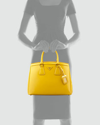 Prada Saffiano Parabole Tote Bag 3