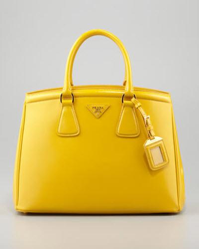 Prada Saffiano Parabole Tote Bag