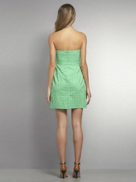 Strapless Eyelet Dress 2