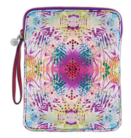 Swarovski Tracey Multicolor Print Tablet Zip Case