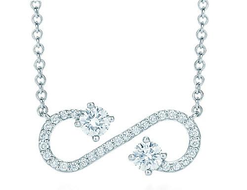 Tiffany & Co. Enchant  Scroll Pendant