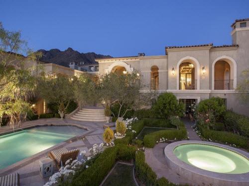 $13.9 Million Mediterranean Estate in Scottsdale Arizona 13