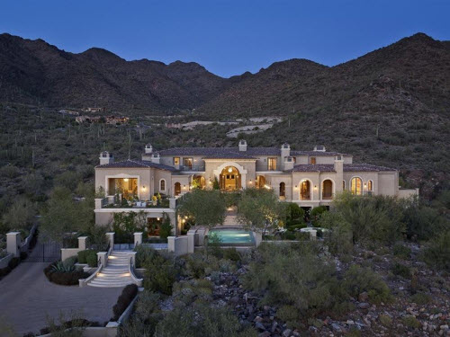 $13.9 Million Mediterranean Estate in Scottsdale Arizona